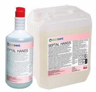 ECO SHINE SEPTAL HANDS Bezalkoholowy płyn do dezynfekcji 1L