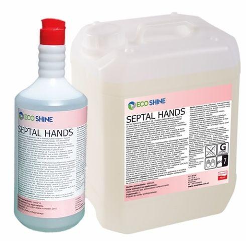ECO SHINE SEPTAL HANDS Bezalkoholowy płyn do dezynfekcji 1L na Arena.pl
