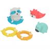 Figurki Pływające Zabawki Kąpieli Unoszące Wodzie