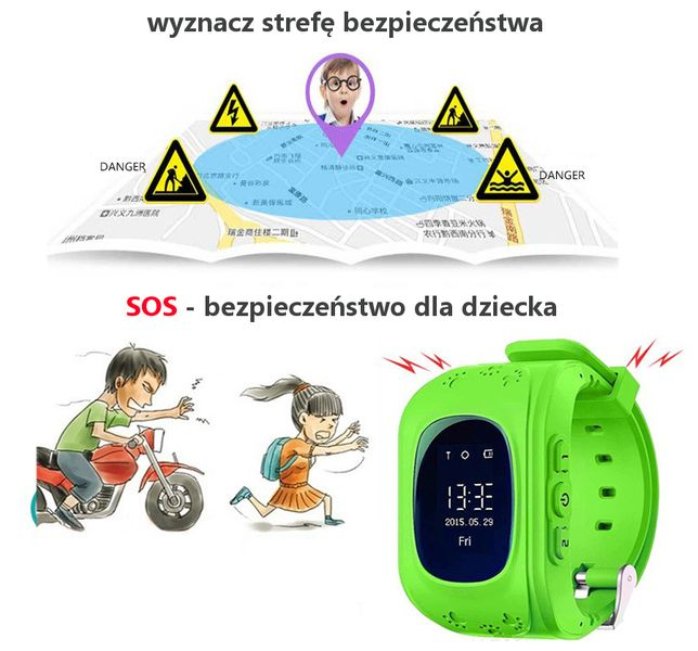 SmartWatch dla dzieci zegarek G36 z lokalizatorem GSM SIM T189 zdjęcie 6