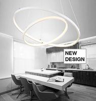 Lampa wisząca SILVA I ring okrąg żyrandol 20/40cm LED 38W Wobako
