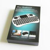 Klawiatura smart TV mini bezprzewodowa i8+ mysz Kolor - Biały zdjęcie 2