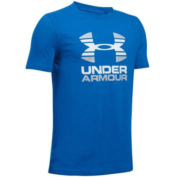 nowy przyjeżdża o rozsądnej cenie amazonka Koszulka UA Two Tone Logo SS 1298292 907 Młodzieżowa rozmiarówka Under A -  YXL