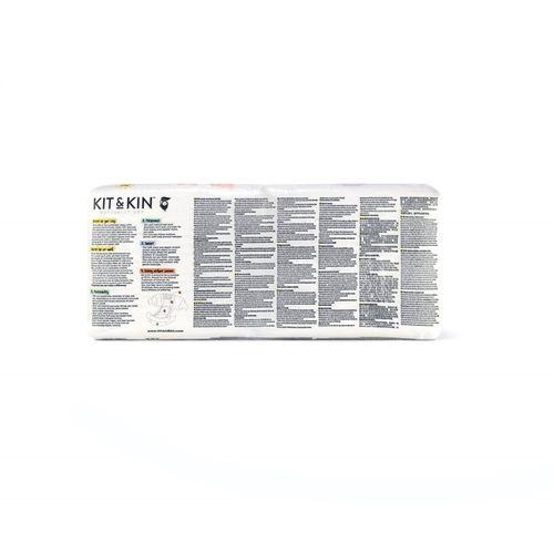 Kit and Kin, Biodegradowalne Pieluszki Jednorazowe 3 Maxi (7-13kg), Giraffe/Hippo, 34 szt. na Arena.pl