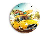 Zegar Ścienny - Podróż Na Wakacje - 50X50 Cm - C3Ar50X50-2839