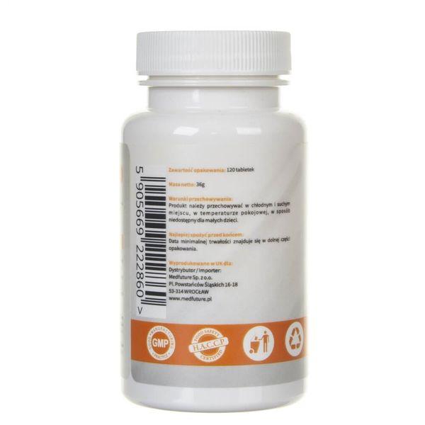 MedFuture Kurkuma ekstrakt 95% 2500 mg - 120 tabletek na Arena.pl