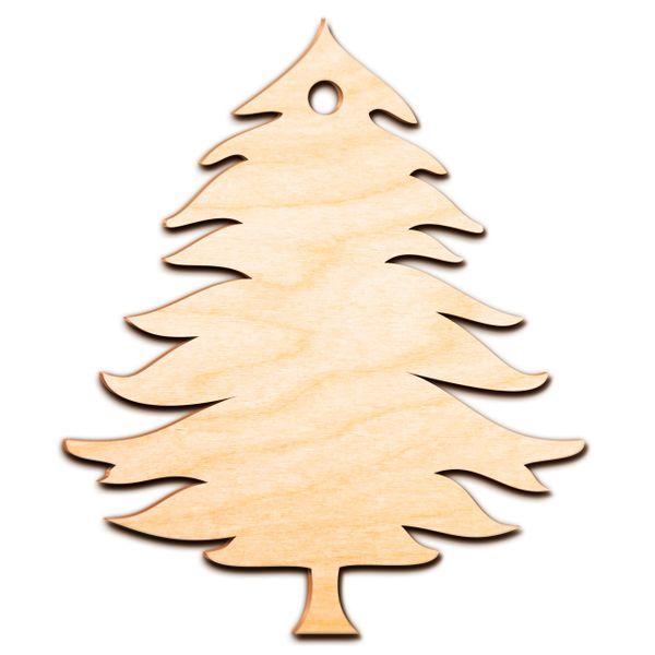 Decoupage Świąteczne CHOINKA Drewniana Zawieszka zdjęcie 5