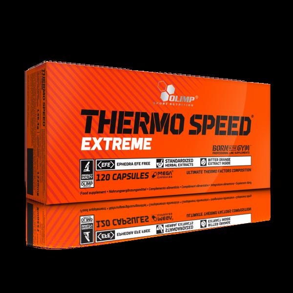 Olimp Thermo Speed Extreme 120 kapsułek Spalacz Tłuszczu+ GRATIS! zdjęcie 1