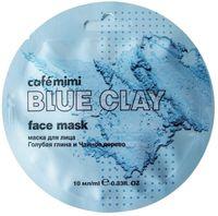 CafeMiMi maska do twarzy Niebieska glinka i drzewo herbaciane