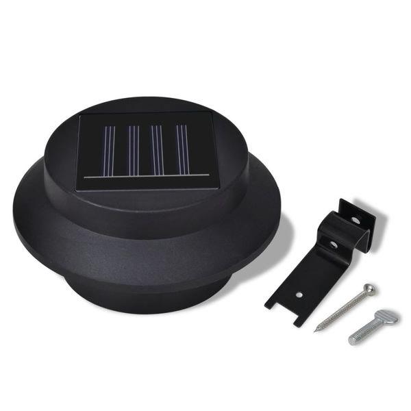 Lampy solarne, 6 sztuk, czarne zdjęcie 8