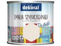 Farba Dekoral Akrylux Emalia szybkoschnąca (0.5 l, Czysta kartka)