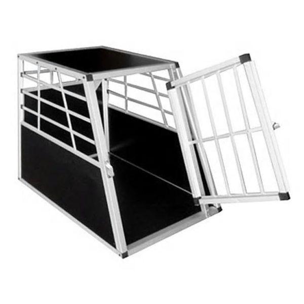 Klatka transportowa dla psa, aluminium, rozmiar L zdjęcie 2