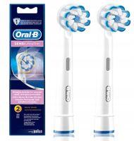 Oryginalne końcówki Oral-B Braun EB60 Sensitive Ultrathin 2 sztuki