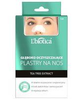 L'Biotica, plastry głęboko oczyszczające na nos z węglem drzewnym, 3 sztuki - Długi termin ważności!