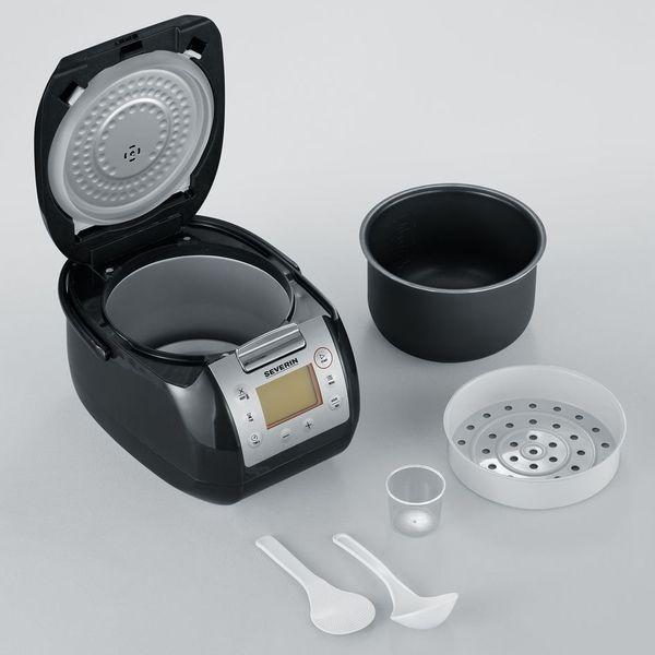 Urządzenie do gotowania SEVERIN 2448 WIELOFUNKCYJNE ~ wolnowar, urządzenie do gotowania ryżu, parowar, garnek zdjęcie 6