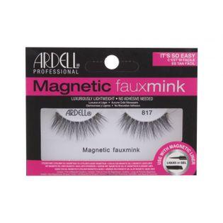 Ardell Magnetic Lashes Faux Mink 817 Sztuczne rzęsy 1szt Black