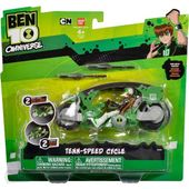 Ben 10 Omniverse Pojazd Podstawowy + Figurka Bandai 36960