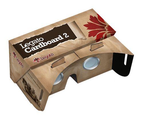 LEGATO CARDBOARD 2 OKULARY 3D WIRTUALNY GOGLE VR na Arena.pl