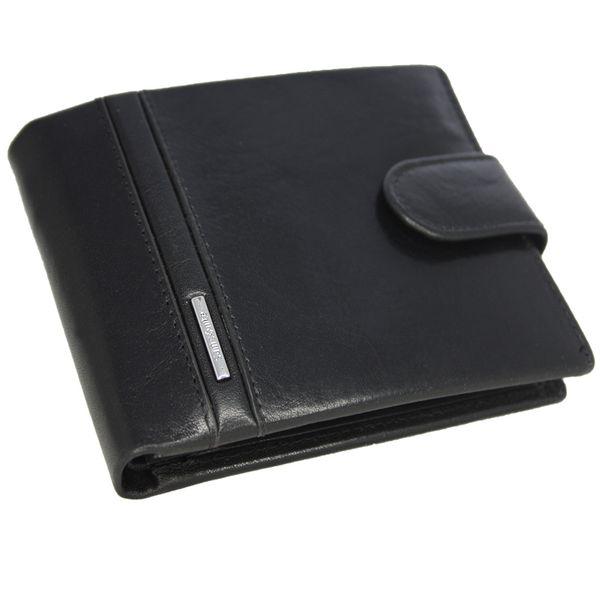 1acb09507a6ff Skórzany elegancki portfel męski z zapięciem Samsonite Prestige, RFID  zdjęcie 1