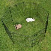 Kojec wybieg klatka 8 elem. dla psa królika 57x78 zdjęcie 5