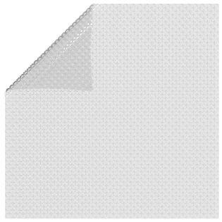 Lumarko Pływająca folia solarna z PE, 260x160 cm, szara!