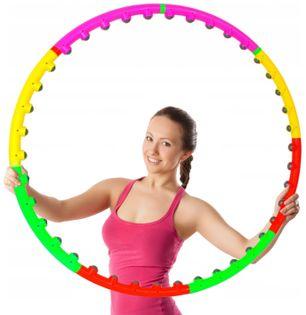Odchudzające Hula Hop Koło Składane Hula Hoop Masaż K69