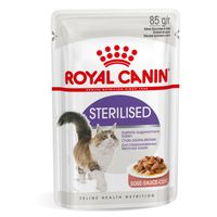 Royal Canin Sterilised w sosie 12 x 85g karma mokra