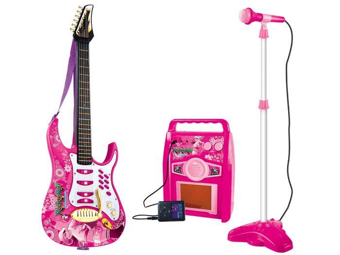 Gitara elektryczna dla dzieci Mikrofon Wzmacniacz IN0018 zdjęcie 9