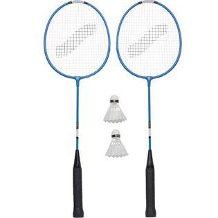 Zestaw do Badmintona Stiga Hobby HS 2 rakiety 2 lotki