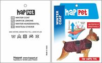 Kurtka dla psa Happet 323B burgund S-40cm