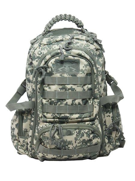 Dwukomorowy plecak szkolny St.Right 30 L, Military Moro BP36 zdjęcie 3