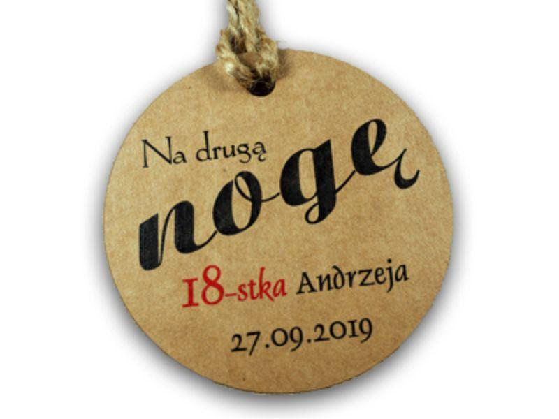 ZAWIESZKI ALKOHOL WÓDKĘ SMIESZNE EKO URODZINY 30x na Arena.pl