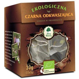 Herbata Czarna Odkwaszająca Eko 15X2G Dary Natury