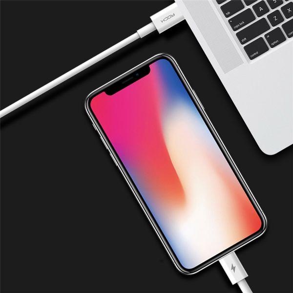 ROCK Ładowarka USB-C Quick Charge + KABEL IPHONE 7 8 X iPad zdjęcie 11