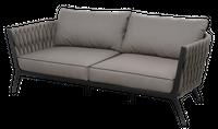 Sofa 2 osobowa Kampala 190x82x65 cm