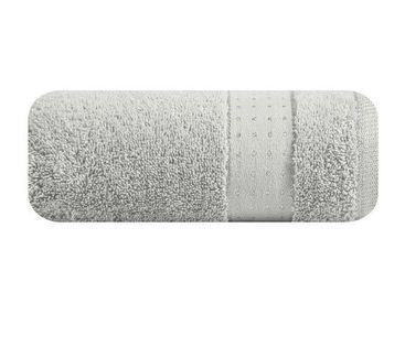 Lumarko Ręcznik BETH 70x140cm 02/srebrny