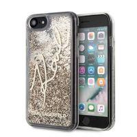 Karl Lagerfeld KLHCI8TRKSGO iPhone 7/8 SE 2020 złoty/gold Glitter Signature