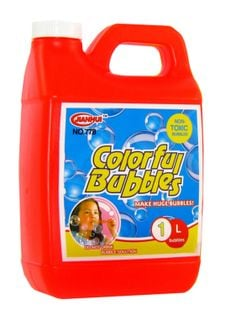 Bańki mydlane ZAPAS Płyn do robienia baniek 1 litr