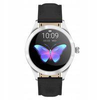 Watchmark Smartwatch Damski Czarny Skórzany FUNKCJE