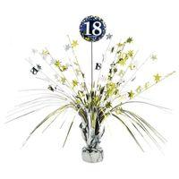 DEKORACJA na stół OBCIĄŻNIK do balonów 18 urodziny
