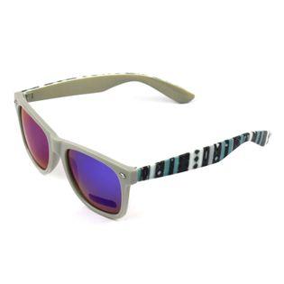 Okulary przeciwsłoneczne szare nerdy wayfarer BOHO