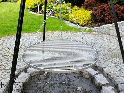 Grill ogrodowy na trójnogu PIOTR z rusztem stalowym 70 cm ES-ER na Arena.pl