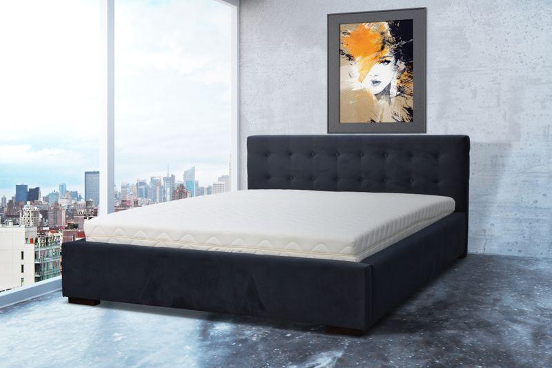 łóżko Sypialniane Retro 140x200 Pojemnik Stelaż