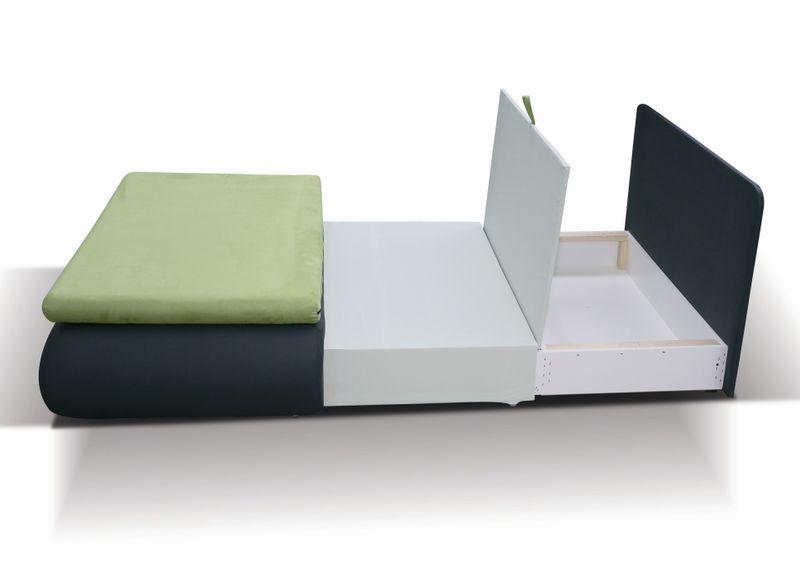 Sofa Tymoteusz - fotel rozkładany - różne kolory zdjęcie 5