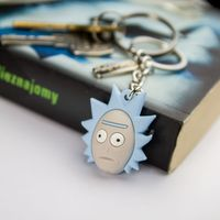 Brelok 3D Głowa Ricka - Rick and Morty