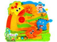 Zabawka Dżungla interaktywna zjeżdżalnia ZA0770