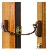 Blokada okienna SREBRNA Zabezpieczenie okna dzieci Uchylenie kluczyk zdjęcie 5