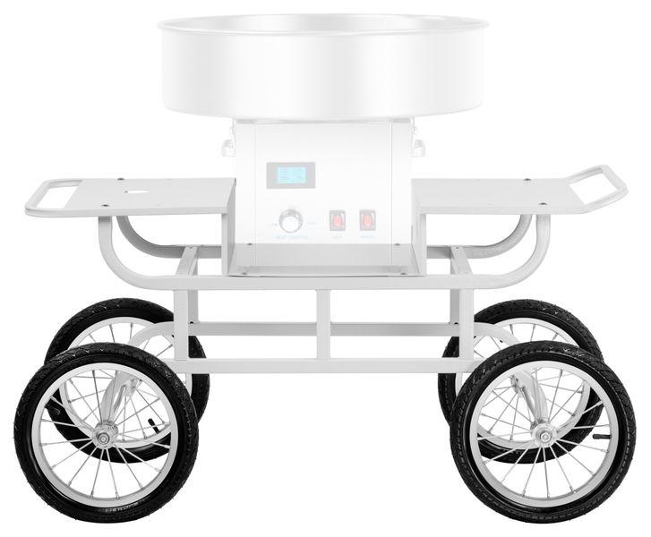 Wózek do waty cukrowej - 2 półki Royal Catering RCZT-01W zdjęcie 6