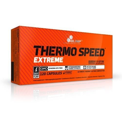 Olimp Thermo Speed Extreme 1090mg 120 kapsułek - Długi termin ważności! zdjęcie 1