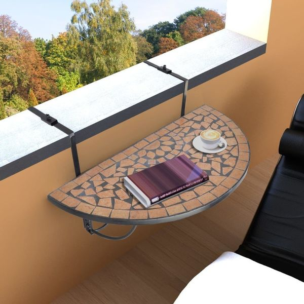 Stół Stolik Ogrodowy Na Taras Balkon Wiszący Teracota